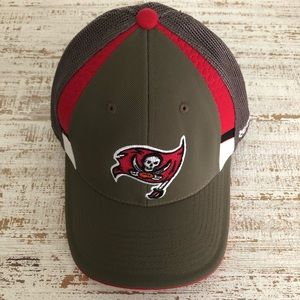 Fitted Brown & Red Tampa Bay Buccaneers Hat
